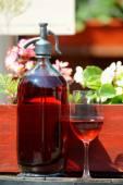Old wine bottle — Stock Photo