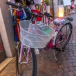 Italian narrow street in the old town - bicycle. Italy — Stock Photo #60663445