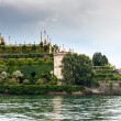 Park on the island of Isola Bella. Italy — Stock Photo #60890557