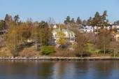 Beautiful view of Stockholm — Stockfoto