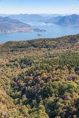 View  of  Lago Maggiore — Stockfoto