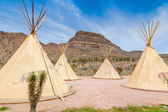 National wigwam of American Indians — Stock Photo
