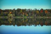 Silver lake, Opava, CZ — Stock Photo