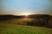 Autumn in Czech republic — Foto Stock