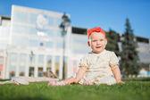 Happy baby — Stock Photo