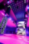 Bokeh bakgrund färg disco — Stockfoto