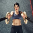 Crossfit workout on ring — Stock Photo #70119067