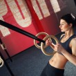 Crossfit workout on ring — Stock Photo #70119121