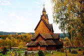 Stave Church in Norway — Stock Photo
