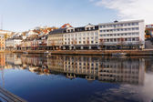 Tbay 花粉、ノルウェーの建物 — ストック写真