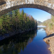 Постер, плакат: Norwegian stone bridge