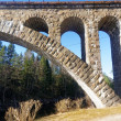 Norwegian stone arch bridge — Stockfoto #68731627