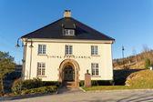 Норвежский старый бумажная фабрика Tinfoss — Стоковое фото