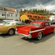 Colorful old cars — Stock Photo #72141493