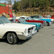 Colorful old cars — Stock Photo #72141563