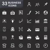 33 business icons — Wektor stockowy