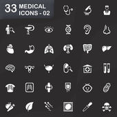 33 medical icons - 02 — Stockvector