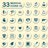 33 jeans medical icons - 02 — Stock Vector