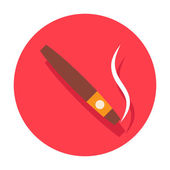 Cigar icon — Stock Vector