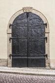 Iron door — ストック写真