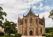 Katedra st. barbara — Zdjęcie stockowe