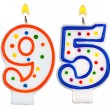 Birthday candles number ninety five — Foto de Stock   #62875829