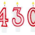 Постер, плакат: Candles number four hundred thirty
