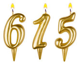 Candles number six hundred fifteen — Stock Photo