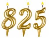Kaarsen nummer acht honderd twintig - vijf — Stockfoto