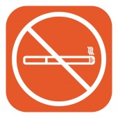 No smoke icon. Stop smoking symbol. Vector. — Stock Vector