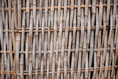 Bamboo weave pattern — Stock Photo