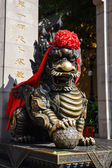 Pixiu, Chinese lucky animal mascot — Stock Photo