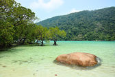 The tropical sea of Thailand — Stock Photo