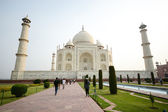 Taj mahal, famous place of India — Stock Photo