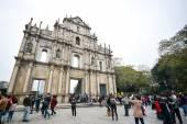 Saint Paul's Cathedral, Macau — Stock Photo