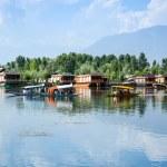 Dal lake at Srinagar, Kashmir, India — Stock Photo #74075761
