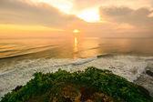 Sunset at Uluwatu, Bali, Indonesia — Stock Photo