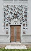 Facade of the vintage building — Stock Photo