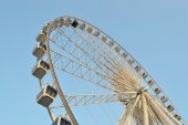 Big Ferris wheel at Asiatique — Stock Photo