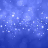 Bokeh hintergrund blau — Stockfoto