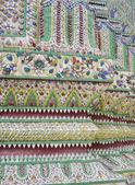 Tile Art of Thai Pagoda at Grand Palace — Stock Photo