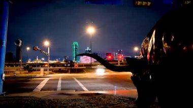 Dallas Skyline — Stock Video