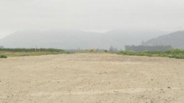 Cargo plane is landing — Stock Video