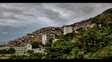 Rio De Janeiro Flavela — Stock Video