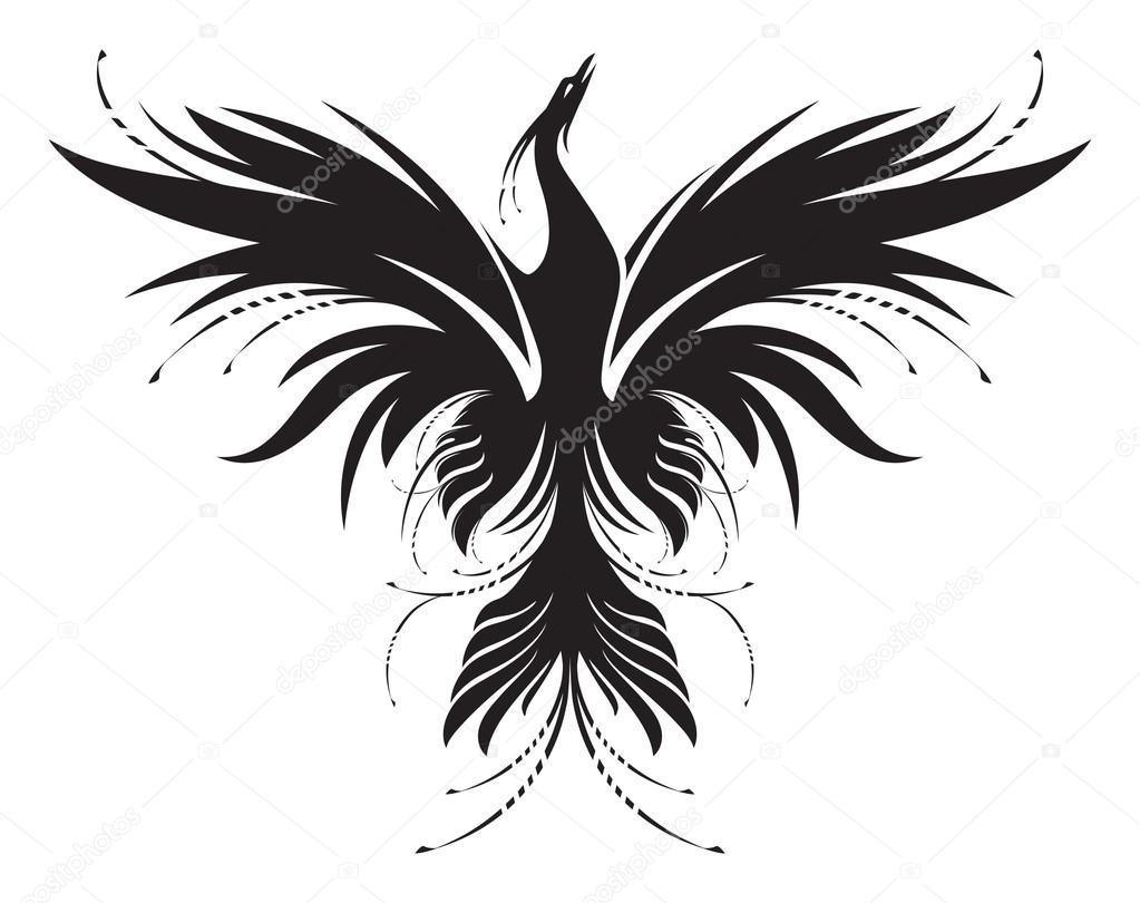 phoenix stock vector r i s e 57482849. Black Bedroom Furniture Sets. Home Design Ideas
