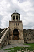 The Svetitskhoveli Cathedral. The bell tower — Stock Photo
