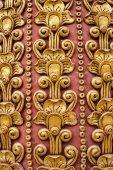 Thai art stucco wall,Thai temple — Stock Photo