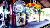 Old technolgy camera — Stock Photo