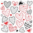 Sweetheart I Love You Valentine Heart Cute Cartoon Vector — Stock Vector #71056615