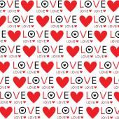 Background Wallpaper Love Heart Text vector Design — Stock Vector